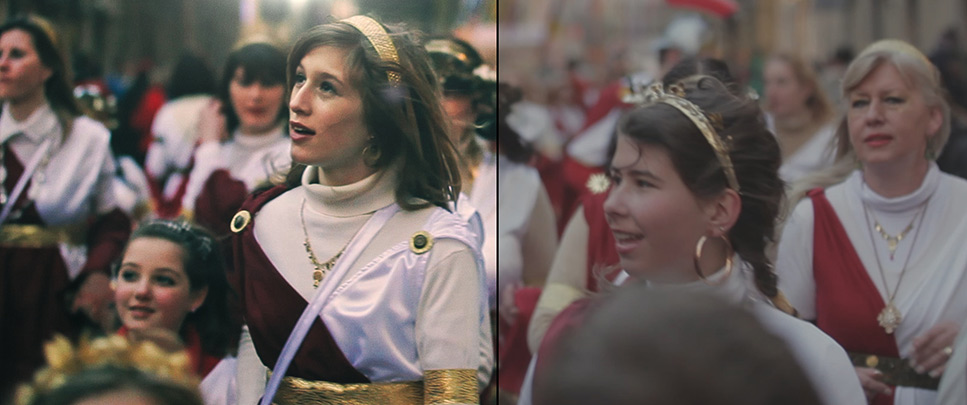 Colour Grading - Before and After