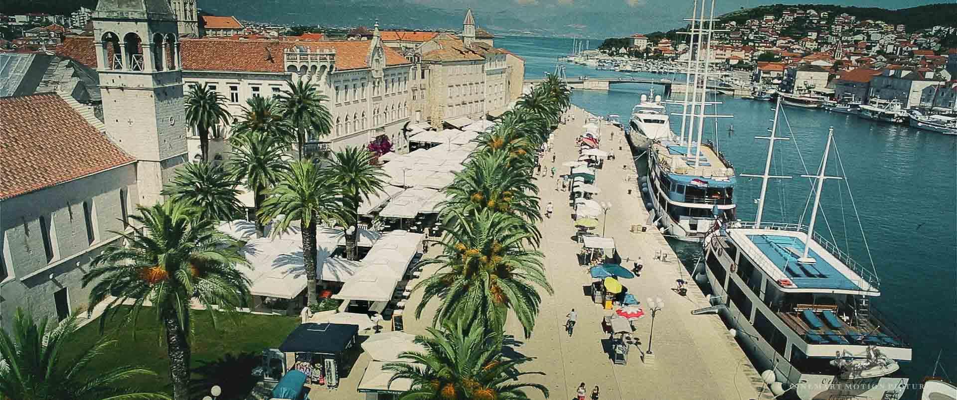 City of Trogir Croatia